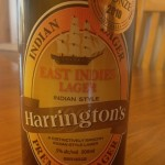 A tasty Harringtons IPA