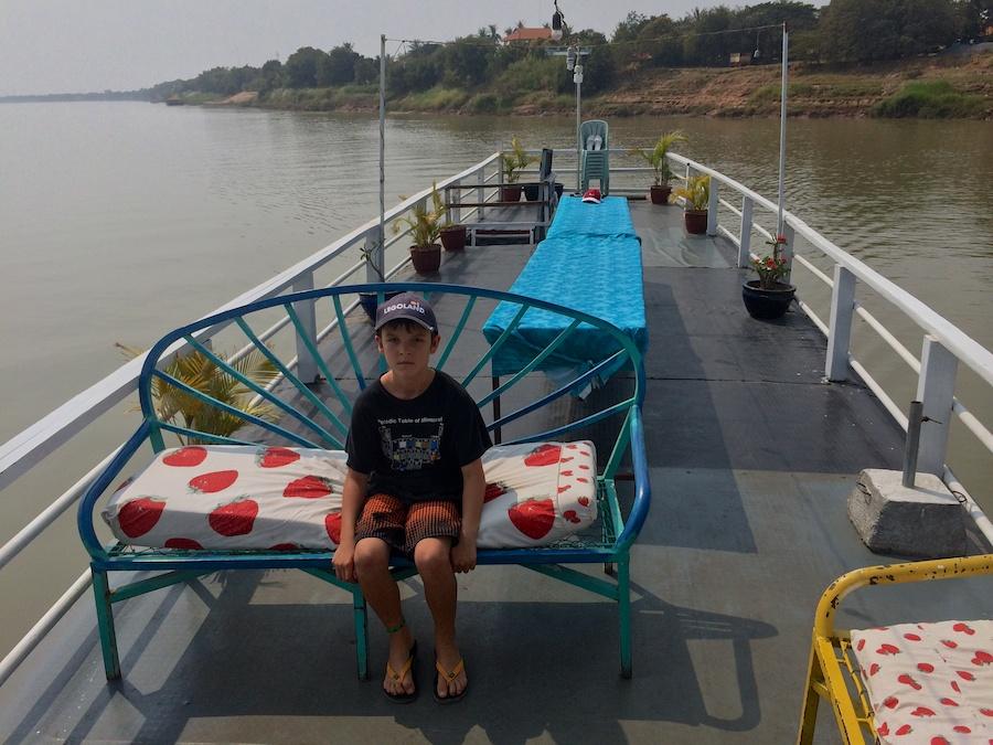 kai on the top deck