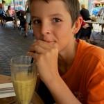 passionfruit & mango juice