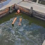 kai floating off