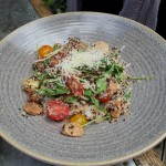 sal's quinoa risotta (bloody hippy chicks!)
