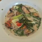 mussels in chilli coconut