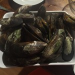 mussels cooked!