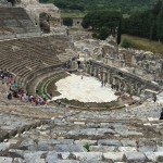 the ampitheatre