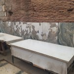 restoration of marble wall linings