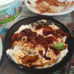 chilli yogurt meze