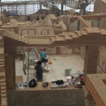 archaelogists restoring