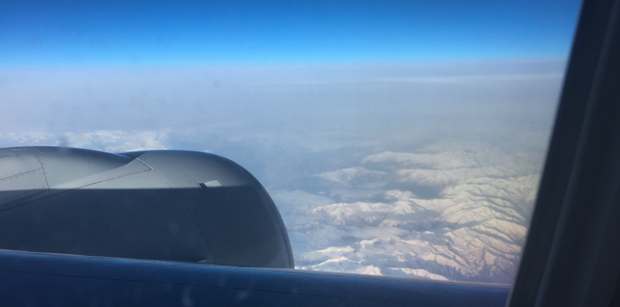 our first glimpse of turkey