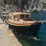 a neat little motor boat...