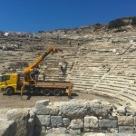the ampitheatre restoration