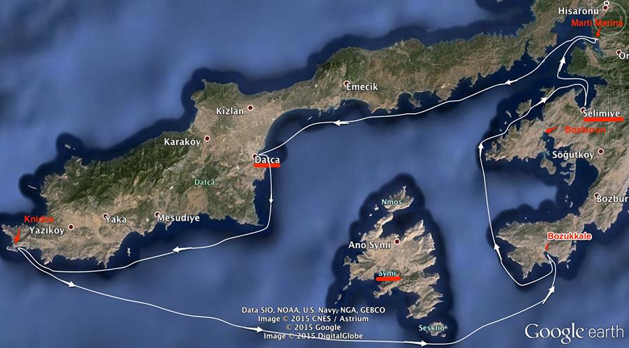 sailingmap