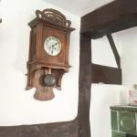 detail of timberwork inside