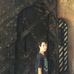 kai at the castle doors