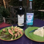 figs, wine and cheese!
