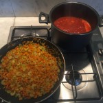 prep for the ragu