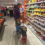 papa michiel & dali shopping