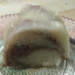 dessert, semillina cake