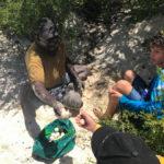 timmy & kai getting turtle eggs