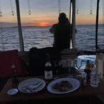 sunset n steak!