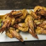 chilli & whiskey prawns