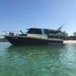 at anchor, truant island