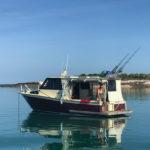 anchored, guruliya bay