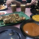 murtabak, mutton curry & dahl