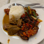 lunch at sumatra cafe