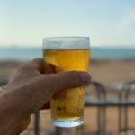 afternoon beer at the ski club