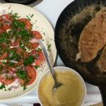 Rick Stein salad & fish