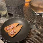 complimentary sashimi