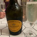prosecco at the tapas & wine bar